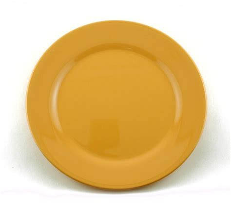 melamine  dinner plate solid colors