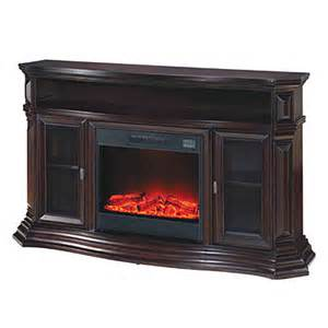 60 quot console espresso electric fireplace big lots