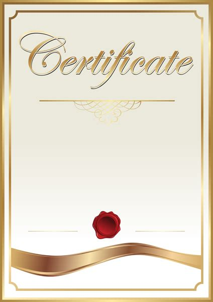 certificate template clip art png image gallery