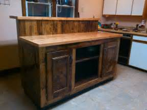 magnificent two tier pallet kitchen island pallet ideas
