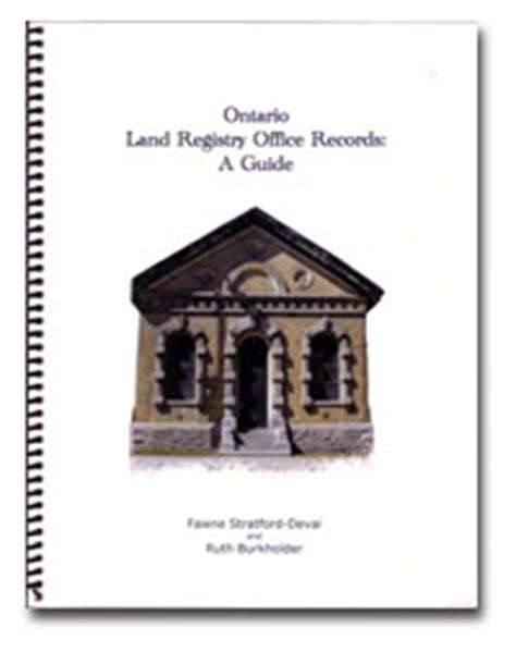 Kitchener Land Registry Office by Resources Western Ontario Includes Counties Of Brant