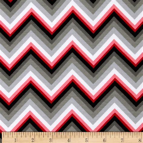 Redwhite The Jersey Grey kaufman laguna stretch jersey knit chevron grey discount designer fabric fabric