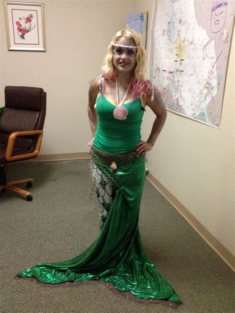 Handmade Mermaid Costume - my mermaid costume autumn and fall