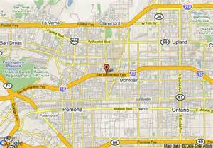 map of claremont california map of claremont lodge claremont