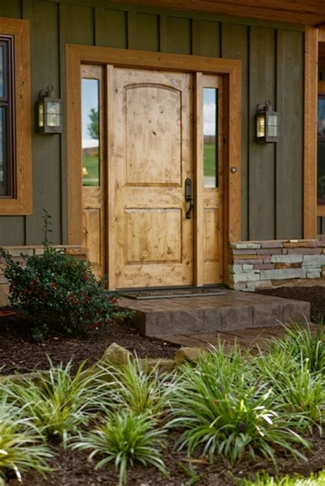 Knotty Pine Exterior Doors 1000 Images About Doors On