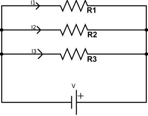 voltage across resistor in parallel circuit resistors in parallel electronics tutorials