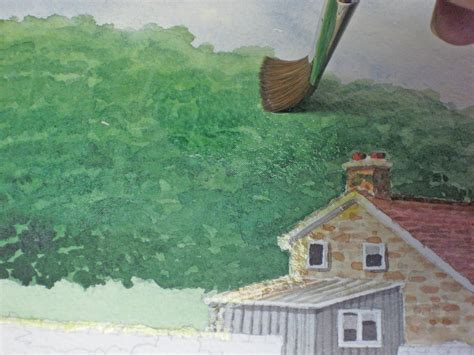 tutorial watercolor landscape learn to paint a watercolor landscape demo by john fisher