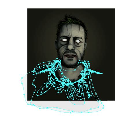 tutorial illustrator zombie from editor to zombie create an undead portrait from a