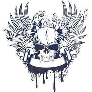 tattoo con ali tatuaggi con teschio storia e immagini dei tatuaggi pi 249