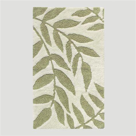 leaf rugs leaf bath rug world market