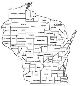 printable map of counties best photos of large printable map of wisconsin detailed