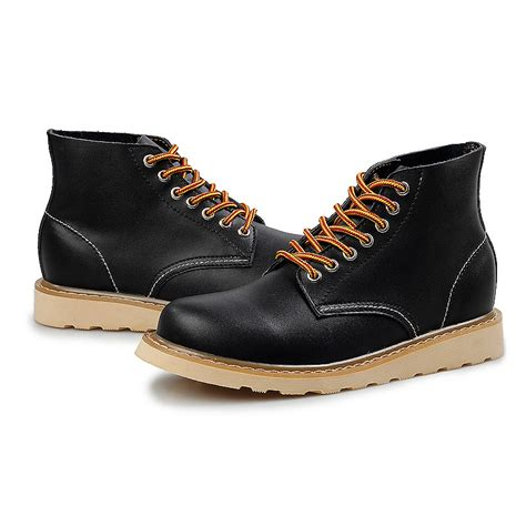 cheap mens boots mens casual boots cheap fashion wedge high heels travel