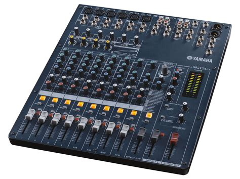 Mixer Audio Yamaha yamaha mg124cx audio mixer sound light rental event