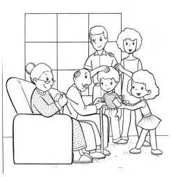 family coloring pages free coloring pages of extended family