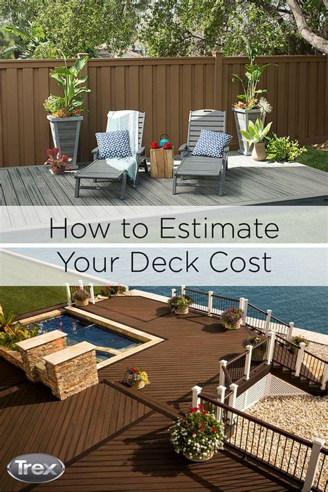 Patio Deck Cost by 17 Best Images About Trex News Hub On