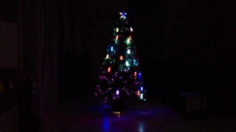 led tannenbaum weihnachtsbaum komplett beleuchtet mit