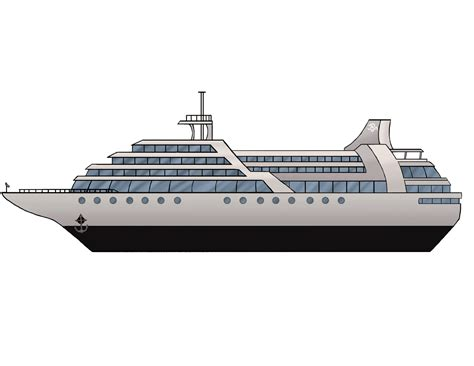 side of a ship or boat drawn ship side view pencil and in color drawn ship side
