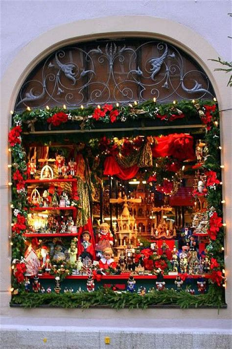 rothenburg christmas window germany christmas pinterest