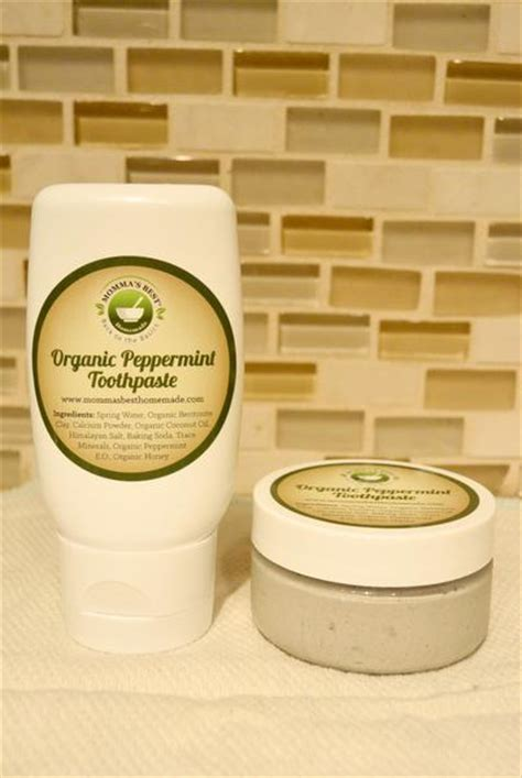 natural toothpaste homemade organic remineralize