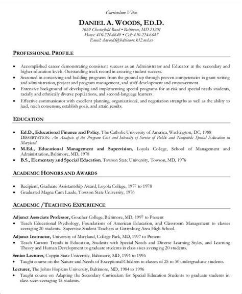 Teachers Curriculum Vitae Ibrizz Com Curriculum Vitae Template Education