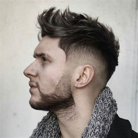 boys cool faded fohawk haircut macho moda blog de moda masculina os estilos de barba