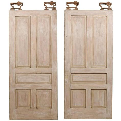 pocket doors for sale pair of american painted wood pocket doors for sale at 1stdibs