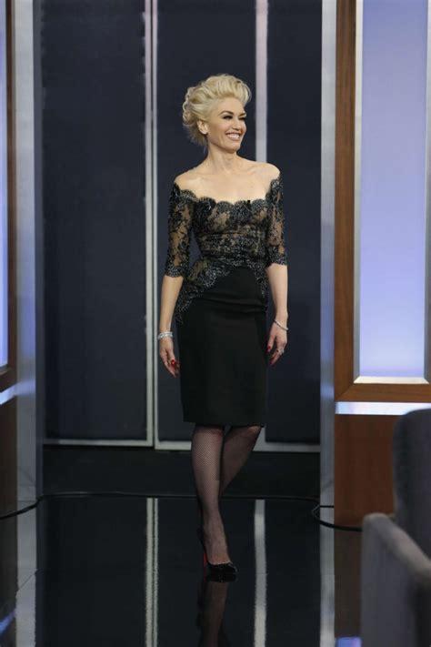 Gwen Stefani On Jimmy Kimmel by Gwen Stefani Jimmy Kimmel Live In La 02 Gotceleb
