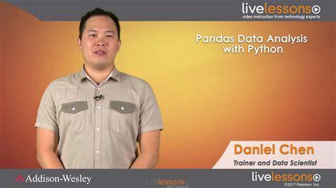 pandas for everyone python data analysis wesley data analytics series books pandas data analysis with python fundamentals livelessons