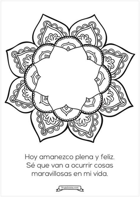 imagenes de optimismo para colorear optimismo mandalas para pintar frugalisima