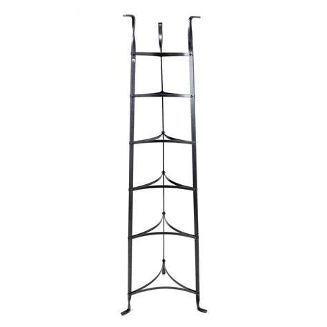 Standing Pot Rack Wrought Iron Enclume 6 Tier Cookware Stand By Enclume