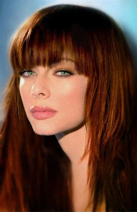 What Color Was Melinda Hair Color In The Ghost Whisperer | melinda clarke ruivas gostosas pinterest color
