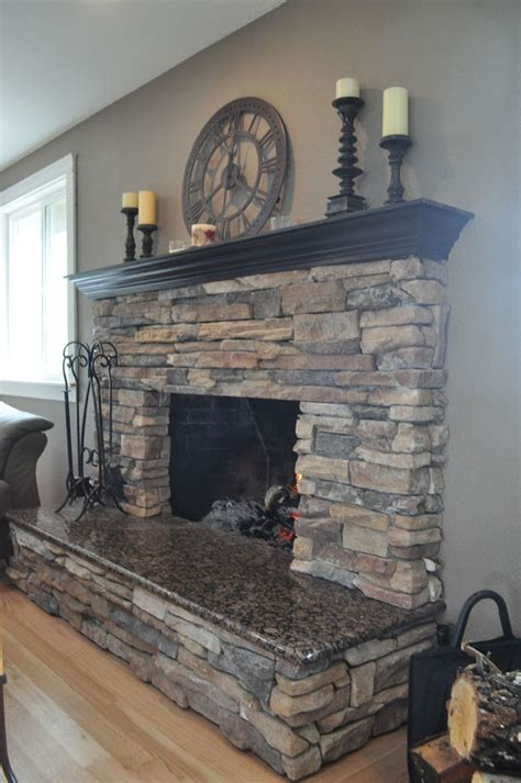 Fireplace Gravel by Best 25 Fireplace Mantel Ideas On