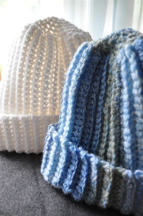 pattern crochet ribbed hat free pattern favorite things crochet hats for men she