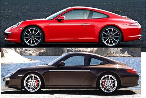 porsche 911 997 vs 991 997 2 991 comparo side by side scaled images rennlist