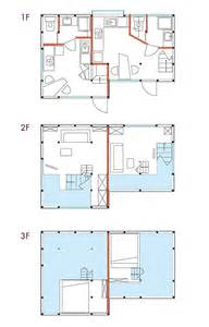 Japanese Apartment Floor Plan Single House Gets Converted Into Two Small Fun Flats