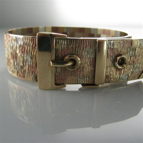 Multi Tonal Chilli Belt At Sportsgirl by Vintage Multi Tone Gold Bracelet Buckle Belt Design