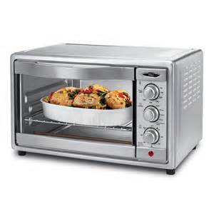 Oster Toaster Oven Oster 174 6 Slice Convection Toaster Oven Brushed Stainless