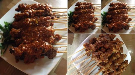 resep sate daging bumbu pedas  lilis ruli