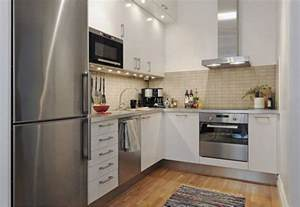 Kitchen Cabinet Designs For Small Spaces 20 Spacious Small Kitchen Ideas