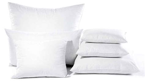 Pillow Material Types by The Different Types Of Cushion Inserts Australia