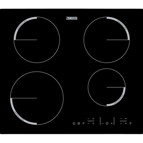 zanussi induction hob problems zanussi zel6640fba 59cm touch four zone induction hob black appliances direct