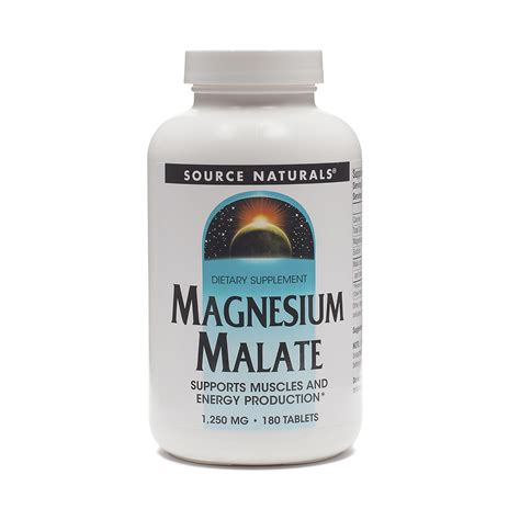 supplement with magnesium source naturals magnesium malate supplement thrive market