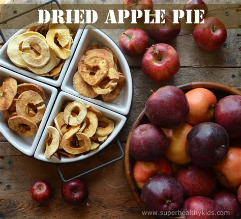 dried apple pie recipe healthy ideas for kids