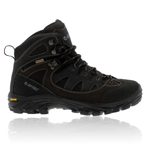 Hi Walk Outdoor Shoes hi tec mens maipo black waterproof outdoors trail walking