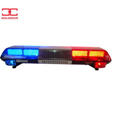 China Emergency Vehicle Led Warning Light Bar Tbd01126a Led Light Bars For Emergency Vehicles