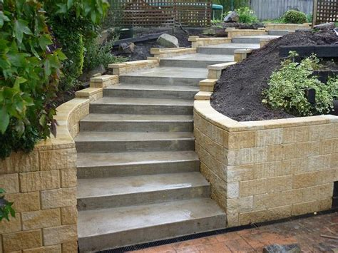 garden wall cost calculator 25 best ideas about concrete steps on garden