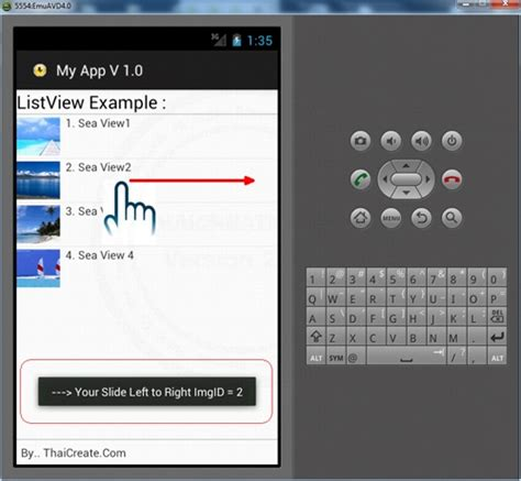 android gestures android gesture on listview detecting sliding items flip and swipe