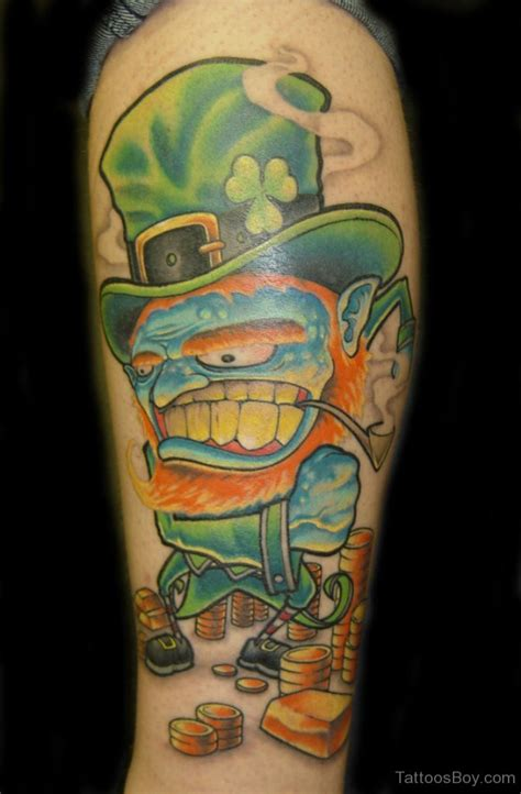 leprechaun tattoos tattoos designs pictures page 7