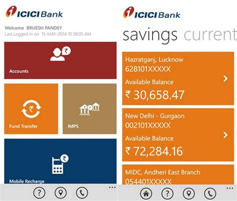 icici bank mobile banking apps official icici bank imobile app now available on windows