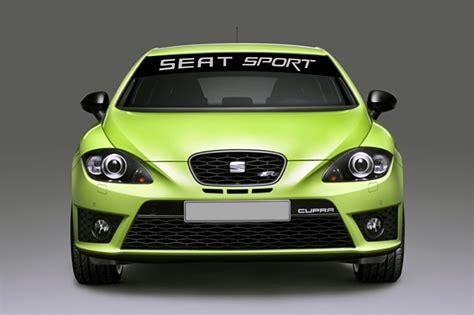 Frontscheiben Aufkleber Anbringen by Seat Sport Blendstreifen Frontscheibe Aufkleber